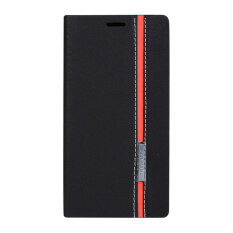 ซื้อ เคสมือถือหนังสองสีแบบตั้งได้ สำหรับ Lenovo A7000 A7000 Plus K3 Note สีดำ Unbranded Generic