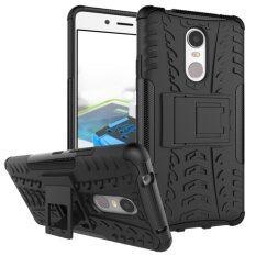 ราคา Case For Lenovo K6 Note Shockproof Kickstand Body Armor Case Black Intl Moonmini