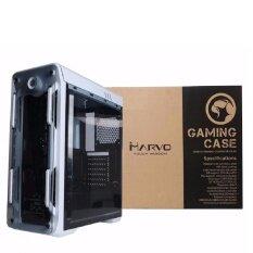 เคสคอมพิวเตอร์ CASE Marvo CA-210 Gaming สีขาว ราคาไม่รวมพัดลม