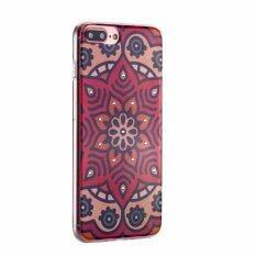 ราคา Case Meloco022 Iphone Plus 7Splus เคส บาง ใส ปกป้องรอบเครื่อง มีเพชรรอบๆ Case Iphone7Plus Case