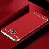 Case Samsung J7 Prime เคสซัมซุง เจ7 พราม เคสประกบ 3 ชิ้น เคสกันกระแทก แบบไม่หนา สีเมทัลลิค หัว ท้าย ใหม่ล่าสุด