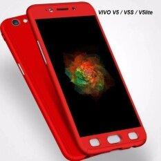 ซื้อ Case Vivo V5 V5 Lite V5S Case เคสวีโว่ วี 5 วี5เอส วี5ไลท์ เคสประกบ 360 องศา สวยและบางมาก Tpu Case สินค้าใหม่ Case Premium