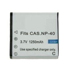 ขาย แบตกล้อง Casio รหัส Np 40 Cnp40 แบตเตอรี่กล้องคาสิโอ Casio Ex Z30 Ex Z40 Ex Z50 Z57 Ex Z300 Unbranded Generic ถูก
