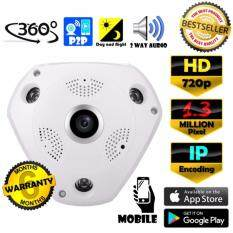 ราคา Cctv Vr Cam กล้องวงจรปิด Ip Hd 960P 1 3 Mp ล้านพิกเซล Ip กล้อง 960P เลนส์ 360° ฟรีอะแดปเตอร์ ออนไลน์