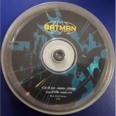 Cd-R52x (10discs) Batman Design3 By Chombueng Computer Co.,ltd..