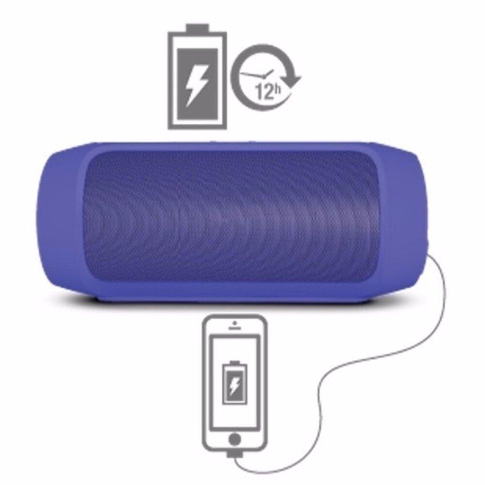 ขอถามคนที่ใช้ ลำโพงแบบพกพา Center Center Bluetooth Speakers Charge 2+ ลำโพงบลูทูธแบบพกพา เสียงเบสกระหึ่ม สามารถใช้เป็น PowerBank ได้ (Black) ยอดขายเยอะมากๆ