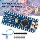 ราคา Ch340G Usb Nano V3 Atmega328P 5V 16M Micro Controller For Arduino Cable ใหม่