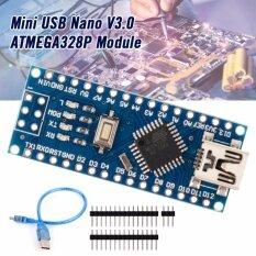 ราคา Ch340G Usb Nano V3 Atmega328P 5V 16M Micro Controller For Arduino Cable เป็นต้นฉบับ