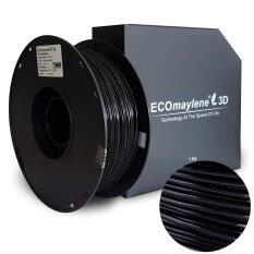 Charcoal Black - ECOmaylene3D PLA Filament 1.75mm (1 KG)