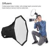 ขาย ซื้อ Cheer 30Cm Universal Flash Light Softbox Octagon Diffuser For Camera Speedlight Intl จีน