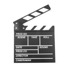 โปรโมชั่น ภาพบรรยากาศกองเชียร์ Clapperboard แคลปเปอร์บอร์ดภาพยนตร์หนังโทรทัศน์ตัดเสาเข็ม ใน จีน