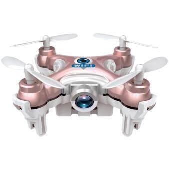 Cheerson โดรนจิ๋ว บินถ่ายภาพ แบบมีรีโมท CheersonCX10WD -TX Nano FPV Drone Camera 720P Wi-Fi