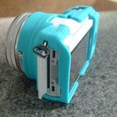 ราคา ซิลิโคนเคส Sony A5100 สีฟ้า ถูก