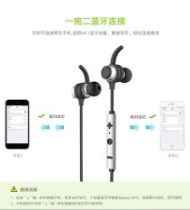 ราคา China Brand Baseus B16 Ipx4 Waterproof Sport Headset Bluetooth 4 1 Headphone Stereo Wireless Earphone With Microphone Black Intl ถูก