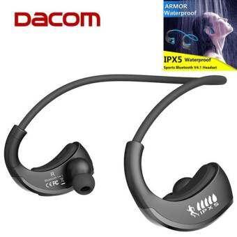 หูฟังยี่ห้อจีนเกราะ DACOM G06 บลูทูธ V4.1 หูฟังไร้สาย IPX5 กันน้ำหูฟังออกกำลัง Anti - เหงื่อหูฟังหูฟ-
