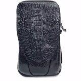 ราคา Chinatown Leather กระเป๋ามือถือหนังแท้ลายจระเข้ ใส่ Iphone6 7 พลัสได้ 3 เครื่อง สีดำ ออนไลน์ กรุงเทพมหานคร