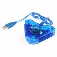 CHOW ตัวแปลงจอยเพลย์ Joy Play2 To PC USB (สีฟ้า)