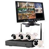 ราคา ชุด กล้องวงจรปิด 960P Wireless Ip Nvr Kit 5G Cctv 4Ch พร้อม จอมอนิเตอร์ 9 นิ้ว Arexit เป็นต้นฉบับ
