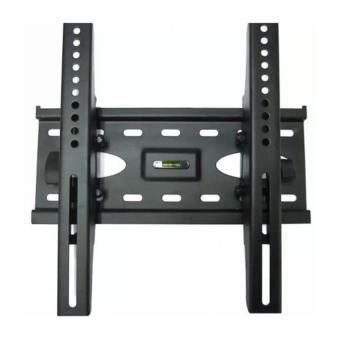ชุดขาแขวนทีวี LCD LED ขนาด 26-55 นิ้ว TV Bracket แบบติดผนังฟิกซ์ (Black)