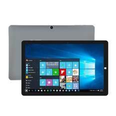 Chuwi Hi10 Pro Tablet หน้าจอ 10.1 นิ้ว 2os Windows 10 + Android 5.1 Intel Atom X5-Z8350 Quad Core + Hd Graphic(gen8) Ram 4gb Rom 64gb รองรับ Sd Card 128gb มีกล้องหน้า-หลัง 2 ล้านพิกเซล - สีเงิน.