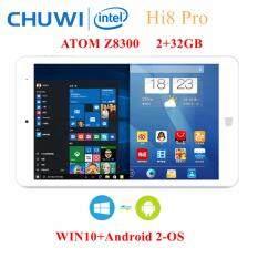 Chuwi Hi8 Pro 2-OS: Android 5.1+ WIN10 จอ 8 นิ้ว 1920x1200 Intel Z8300 1.84GHz มีช่อง HDMI/USB Type-C