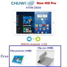 Chuwi ใหม่ Hi8 Pro 2-OS + Flip case: Android 5.1+ WIN10 จอ 8 นิ้ว 1920x1200 Intel Z8350 1.92GHz มีช่อง HDMI/USB Type-C