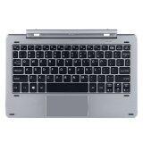 ส่วนลด Chuwi Keyboard เชื่อมต่อ Docking สำหรับ Tablet รุ่น Chuwi Hi10 Pro Chuwi Hibook Pro ฺsilver