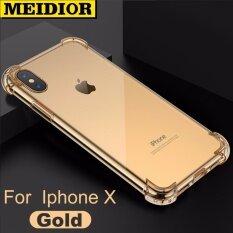 ราคา Clear Drop Proof Tpu Back Case Cover For Iphonex 5 8 Inch Transparent Intl เป็นต้นฉบับ Meidior