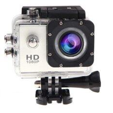 Coco Sports & Action Camera HD 1080p CC4000 +Tachograph Car Camera กล้องกีฬา(ขาว) ฟรี Kingston 16G Micro SD Card