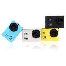 Coco Sports & Action Camera HD 1080p +Tachograph Car Camera  กล้องกีฬา(สีเหลือง)