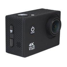 Coco Sports & Action Camera HD 4K CC6000+1080p +WIFI+Tachograph Car Camera กล้องกีฬา ( สีดำ )