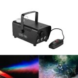 โปรโมชั่น Colorful 400 Watt Fogger Fog Smoke Machine With Color Lights Red Blue Green Wired Remote Control For Party Live Concert Dj Bar Ktv Stage Effect Intl