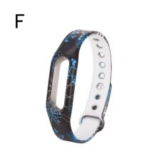 Colorful Strap Wristband Replacement Smart Band Accessories For Mi Band 2 F - intl