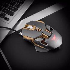 Combaterwing Usb Wired Professional Ergonomic Gaming Mouse With 7 Buttons Adjustable Dpi Up To 3200 เป็นต้นฉบับ