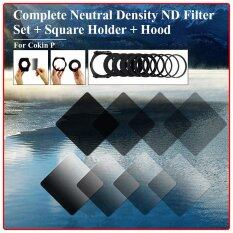 ขาย ซื้อ ออนไลน์ Complete Nd 2 4 8 16 Filter Kit For Cokin P Holder Wide Adapter Lens Hood