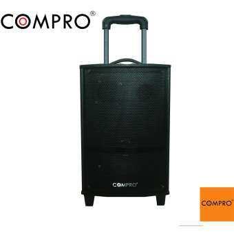 compro ลำโพงล้อลาก บลูทูธ 8 นิ้ว รุ่น CO-2100 P.M.P.O.3000 W