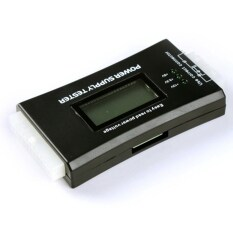 ซื้อ Computer Pc Power Supply Tester Checker 20 24 Pin 4 Sata Hdd Atx Btx Meter ออนไลน์