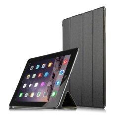 เคสไอแพดแอร์ iPad Air 2 Magnet Clear Back Case - Black