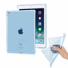 "Cool Case เคสนิ่ม New iPad 9.7"" (2017/2018) ฝาหลังใสสีฟ้า นิวไอแพด 9.7""  Clear TPU Soft Case - Blue"