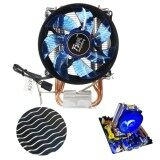 ขาย Core Led Cpu Quiet Fan Cooler Heatsink For Intel Socket Lga1156 1155 775 Amd Am3 Intl Unbranded Generic