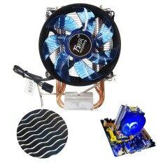 ขาย Core Led Cpu Quiet Fan Cooler Heatsink For Intel Socket Lga1156 1155 775 Amd Am3 Intl Unbranded Generic ถูก