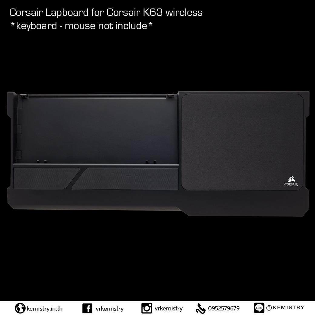 Corsair Lapboard for Corsair K63 wireless