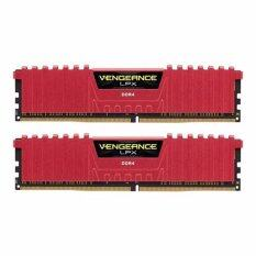 CORSAIR RAM For PC 8/2400 CORSAIR VG (CMK8GX4M2A2400C14R) 4x2 (RED)