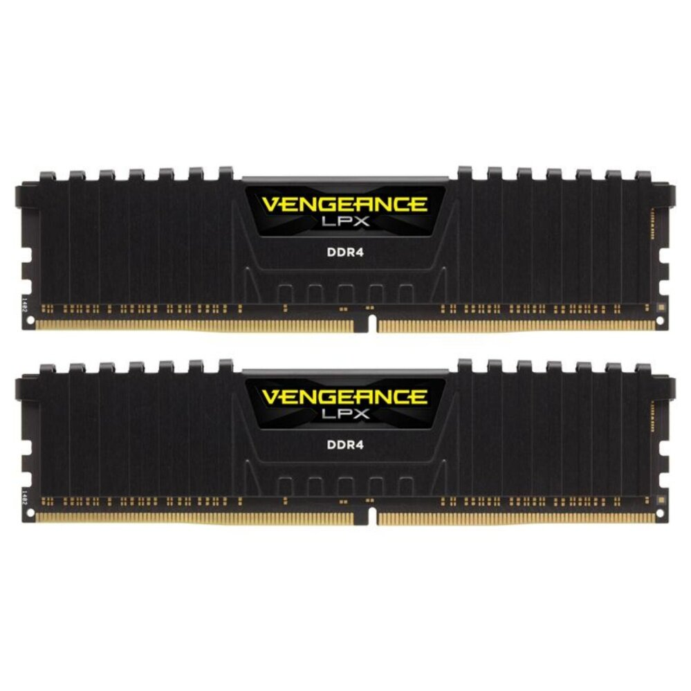 Corsair Ram PC DDR4 8G/2400 Vengeance LPX C14 2x4GB (Black)