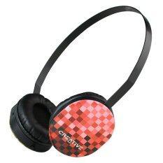 ขาย ซื้อ ออนไลน์ หูฟังแบบครอบหู Creative รุ่น Hq 1450 Red