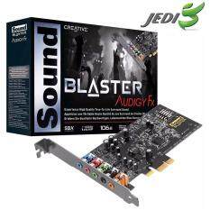 ซื้อ Creative Sound Blaster Audigy Fx 5 1 Pcie Sound Card With Sbx Pro Studio Creative ออนไลน์