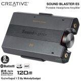 ราคา Creative Sound Blaster E5 Usb Dac ความละเอียดสูงและหูฟังแบบพกพา ใหม่ ถูก