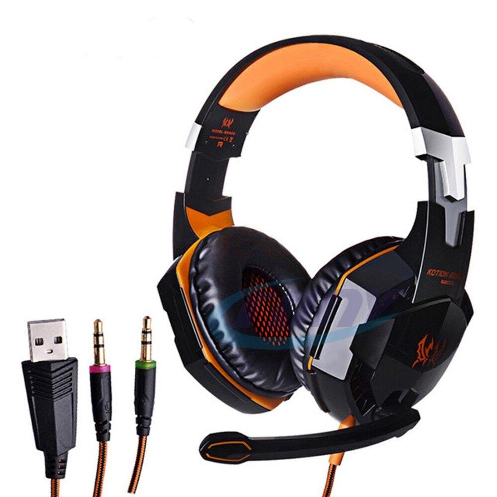 อยากให้แนะนำข้อดี CRONY KOTION EACH G2000 Gaming Headphones PC Gaming Headsets หูฟังแบบครอบหู หูฟัง รุ่นใหม่ 2562