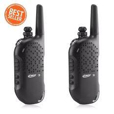Crony T8 วิทยุสื่อสาร Walkie-Talkies waterproof 5KM Two Way Radios with LED jacklight(Black)