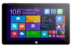 "Cube i10 Windows 8.1 Android 4.4 Dual OS Intel Z3735F Quad Core 1.8GHz 10.6"" (Silver)"